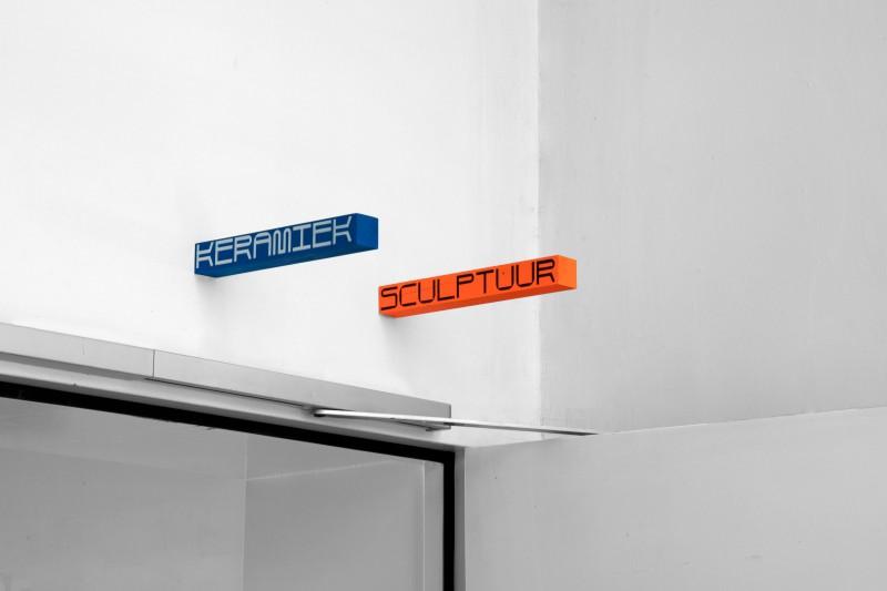 Academie voor Beeldende Kunsten Mol, a bespoke typeface and visual identity.