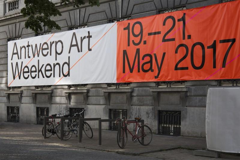 Antwerp Art Weekend Visual Identity