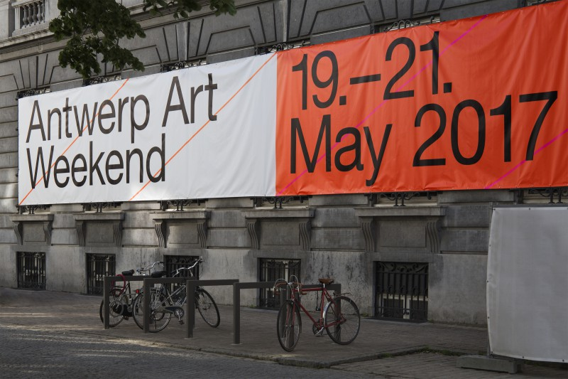 Antwerp Art Weekend Visual Identity