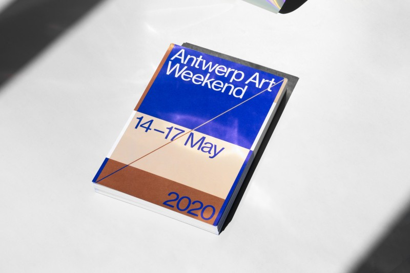 Antwerp Art Weekend, visual identity and campaign for the 2020 edition.