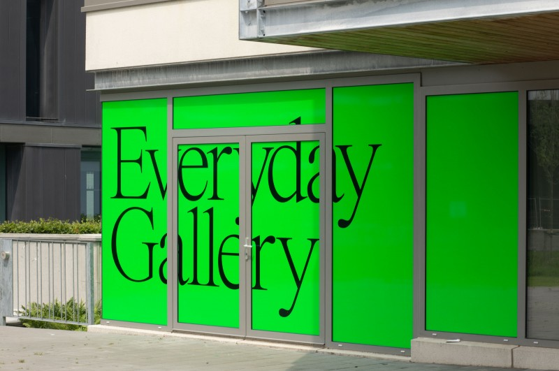 Everyday Gallery,  visual identity including website and digital presence.